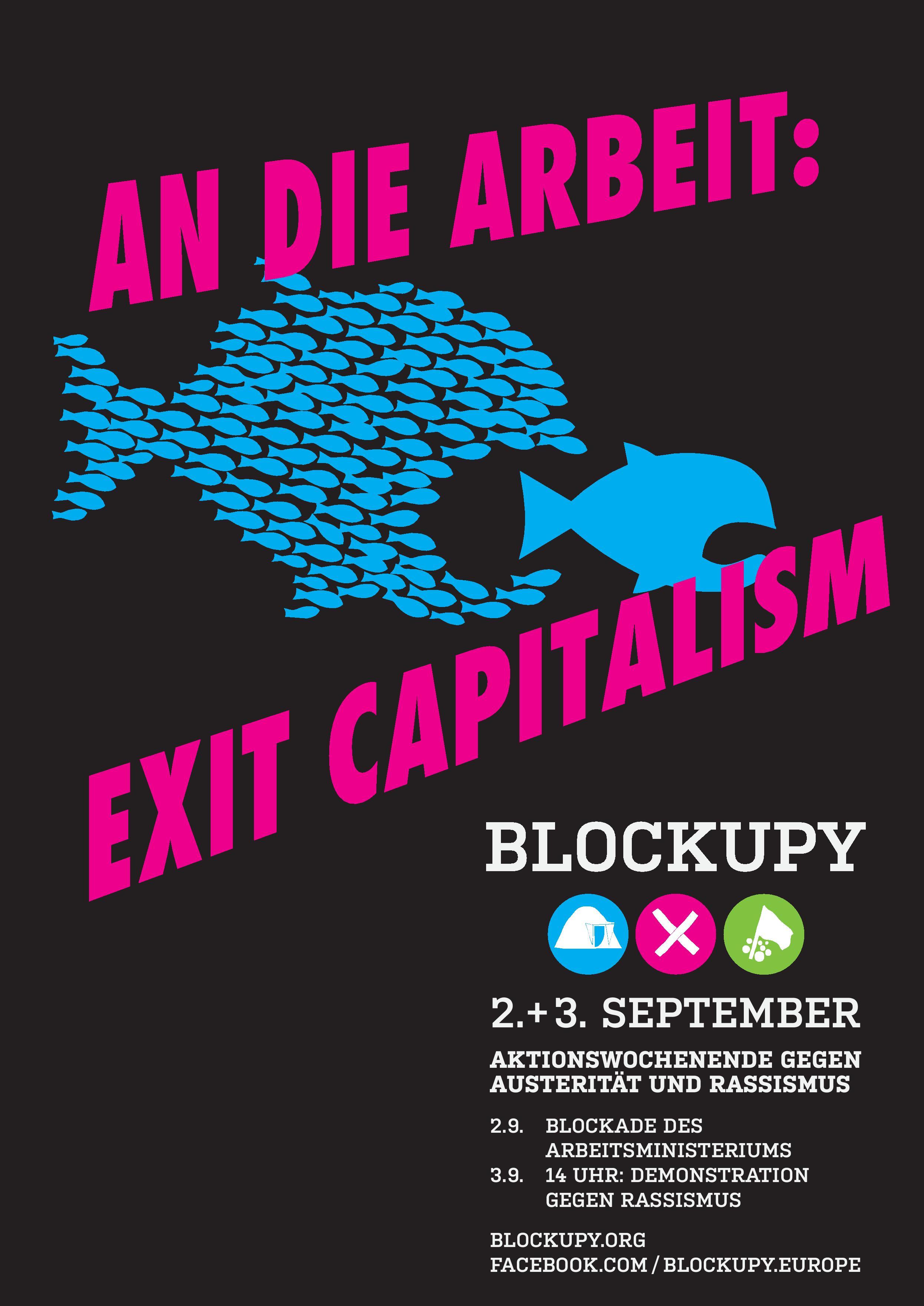 Exit Capitalism Blockupy 2016 Blockupy Hamburg